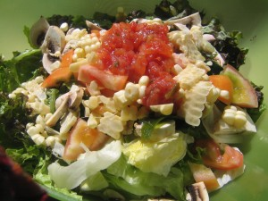 23 raw salad 300x225 A Day in the Life...