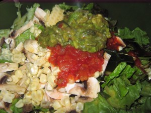 25 raw salad guac 300x225 A Day in the Life...