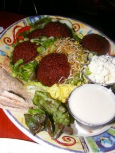 3 falafel salad 225x300 Back to School