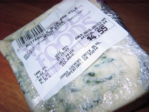 42 raw blue cheese