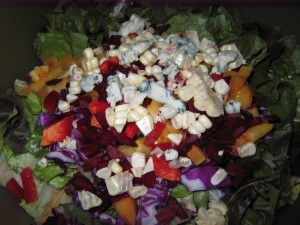 43 raw cheese salad