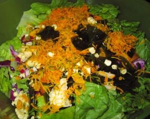 05 raw kabocha salad 300x239 Raw KABOCHA