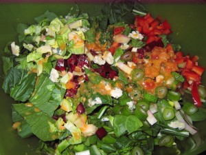 11 raw salad 300x225 Piano, Raw Salads, Farmers Markets   Oh my!