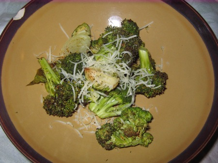 14 roasted broccoli