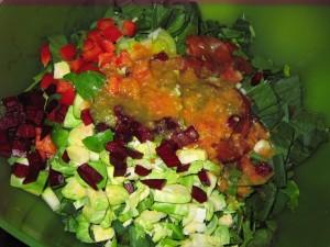 17 raw salad