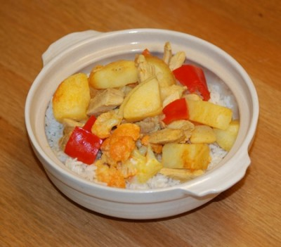 21 chicken curry rice