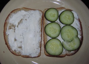 45 cucumber sandwich 300x214 Boy food