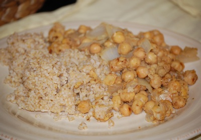 34 gingery chickpeas Recipe: Gingery Chickpeas