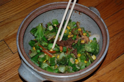 06 veggies beef butter Vegetarians Beware. Yummy Thai Food.