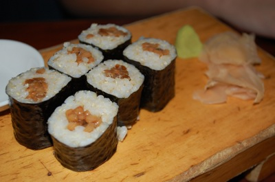 1 natto roll Souen Again: The Best Dinner Ever