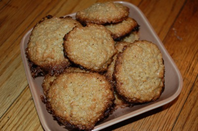 1 quinoa cookies Womens Work and a Recipe: Quinoa Flake Cookies (Gluten Free)