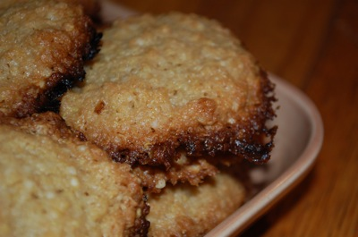2 quinoa cookies Womens Work and a Recipe: Quinoa Flake Cookies (Gluten Free)