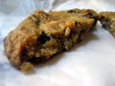 city bakery chocolate chip cookie 400x300 Movin On Up...