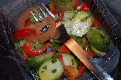 oily veggies What do you do...