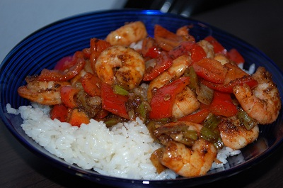 rice shrimp coconut oil teriyaki Moving in Manhattan   Kinda Rough!