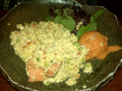 souen scrambled tofu yam Macrobiotic Souen Meals