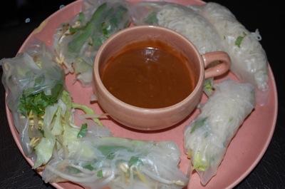 1 spring rolls Recipe: Fresh Vietnamese Rolls (Spring? Summer?)