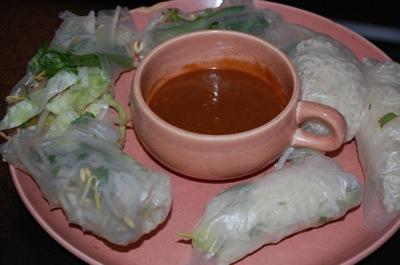 2 spring rolls Recipe: Fresh Vietnamese Rolls (Spring? Summer?)