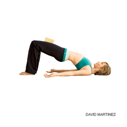 bridge pose Simple Vinyasas (Yoga Poses) for 5 Common Ailments (Part 1)