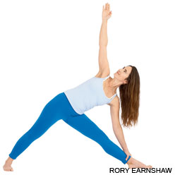 extended triangle pose Simple Vinyasas (Yoga Poses) for 5 Common Ailments (Part 1)