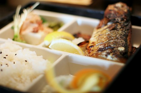 mackerel bento 450x299 Healthy Eating In Miami