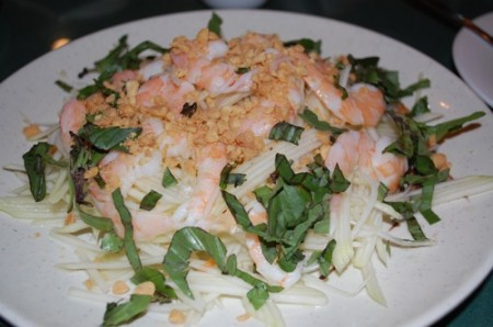 01 vietnamese papaya salad 450x298 Happy New Year! A Year In Review.