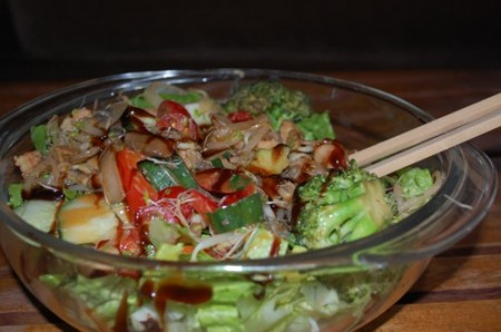 10 hot cold asian salad 450x298 Recipe: Hot Cold Asian Salad