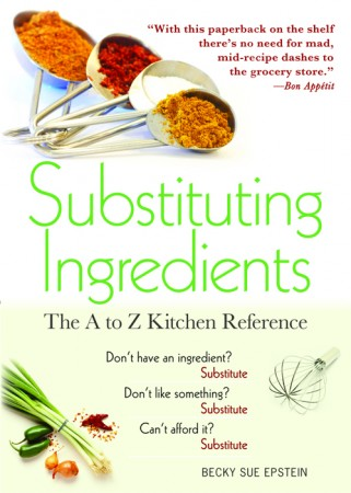 substituting ingredients book 321x450 Review: Substituting Ingredients