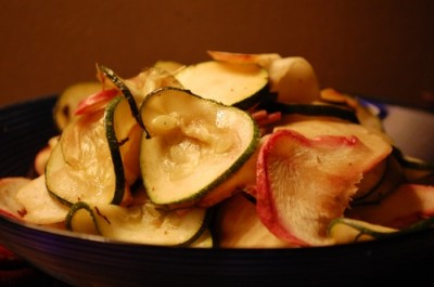 04 turnips zucchini 400x265 Why I Am A Food Blogger {Project Food Blog}