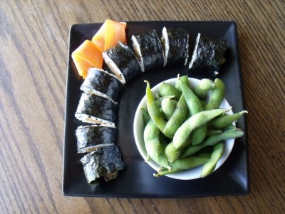 10 sushi 640x480 400x300 Melissa: Make Your Own Sushi (on the cheap!)