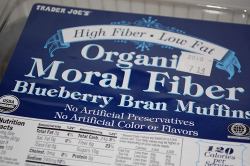 20 moral fiber blueberry bran muffin My Moral Fiber & I Love Muffins