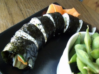 9 sushi 640x480 400x300 Melissa: Make Your Own Sushi (on the cheap!)