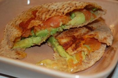 03 breakfast pita avocado tomato cheese 400x265 Fun Food Friday