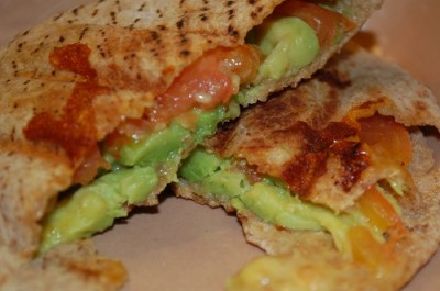 04 breakfast pita avocado tomato cheese 400x265 Fun Food Friday