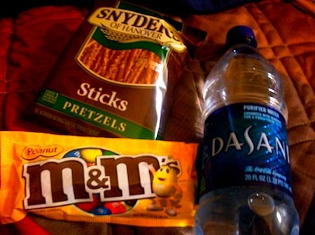 dasani mms pretzels Mara: Food Blogging and Marriage