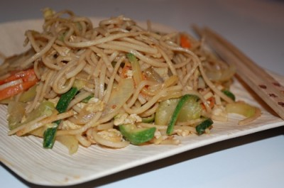 02 jap chae pad thai 400x265 Tasty Tuesday: Peanutty Jap Chae Recipe with Soba Noodles