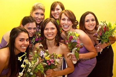 bridesmaids 400x266 Wordless Wedding Post {Wordless Wednesday}