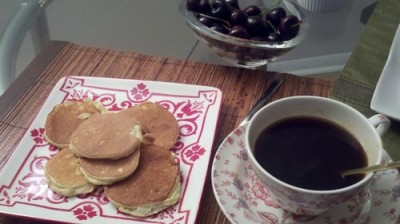heab coconut pancakes 400x224 Being Spontaneous: A Healthy Blogger Weekend