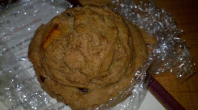 souen kabocha chocolate scone 400x224 Happy New Year! A Year In Review.