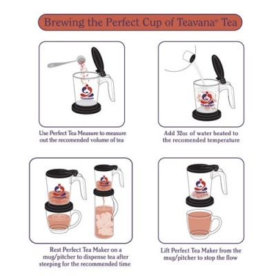 teavana tea maker directions 400x400 Tea Time and Relaxation