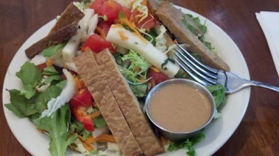 tempeh salad peacefood1 400x224 New York Yummy Vegan Food