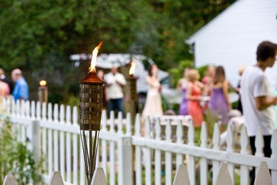 tiki torch 400x267 Wordless Wedding Post {Wordless Wednesday}