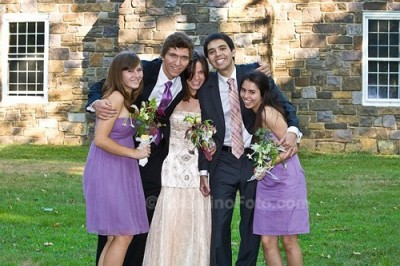 wedding siblings 400x266 Family, Salads, Documentary, Flowers, Dessert, and Zumba (!)