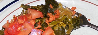collard greens I Ate Fried Chicken!!! And ditched the scale. And quit the gym.
