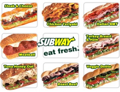 subway 400x309 Trying to Budget Food Stinks