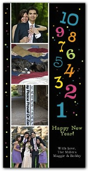 shutterfly card Happy New Year! A Year In Review.