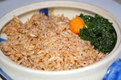 16 indian brown rice 400x265 Indian Brown Rice Recipe (Whole Foods Inspired Recipe)