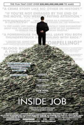 InsideJobPoster 269x400 Documentary: Inside Job & Yoga Recs