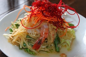 papaya salad Weekend Fun in DC With Friends   Part 1