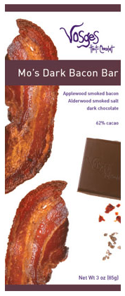 dark chocolate bacon My Quirks   7 Random Things